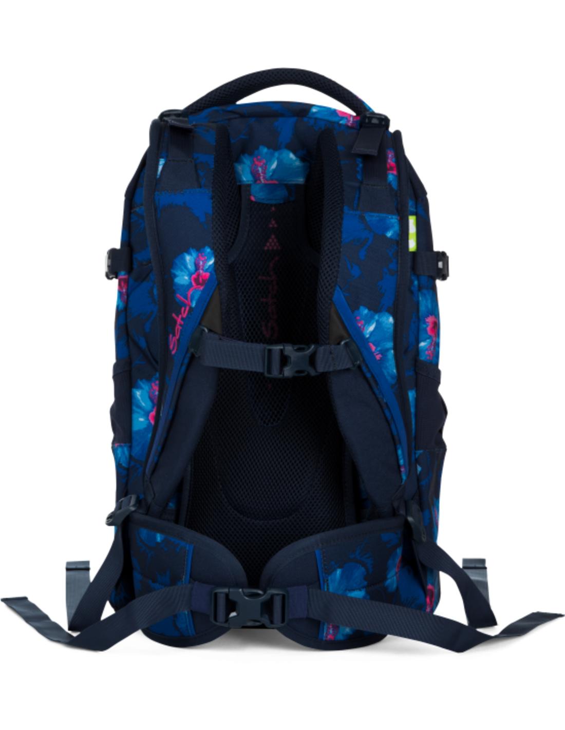 Satch Satch Pack School Rugzak - 30 liter backpack - Waikiki blue