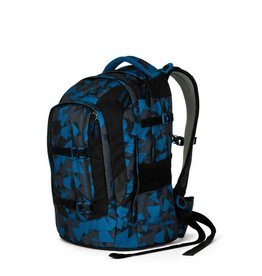 Satch Satch Pack School Rugzak - Blue Triangle