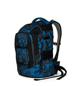 Satch Satch Pack School Rugzak - Blue Triangle