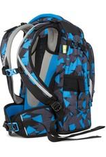 Satch Satch Pack School Rugzak - 30 liter backpack - Blue Triangle
