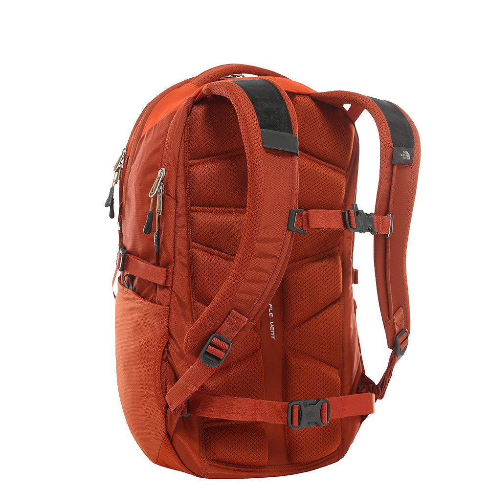 The North Face The North Face Borealis 16 inch laptoprugzak - Papaya Orange - Nieuwe versie