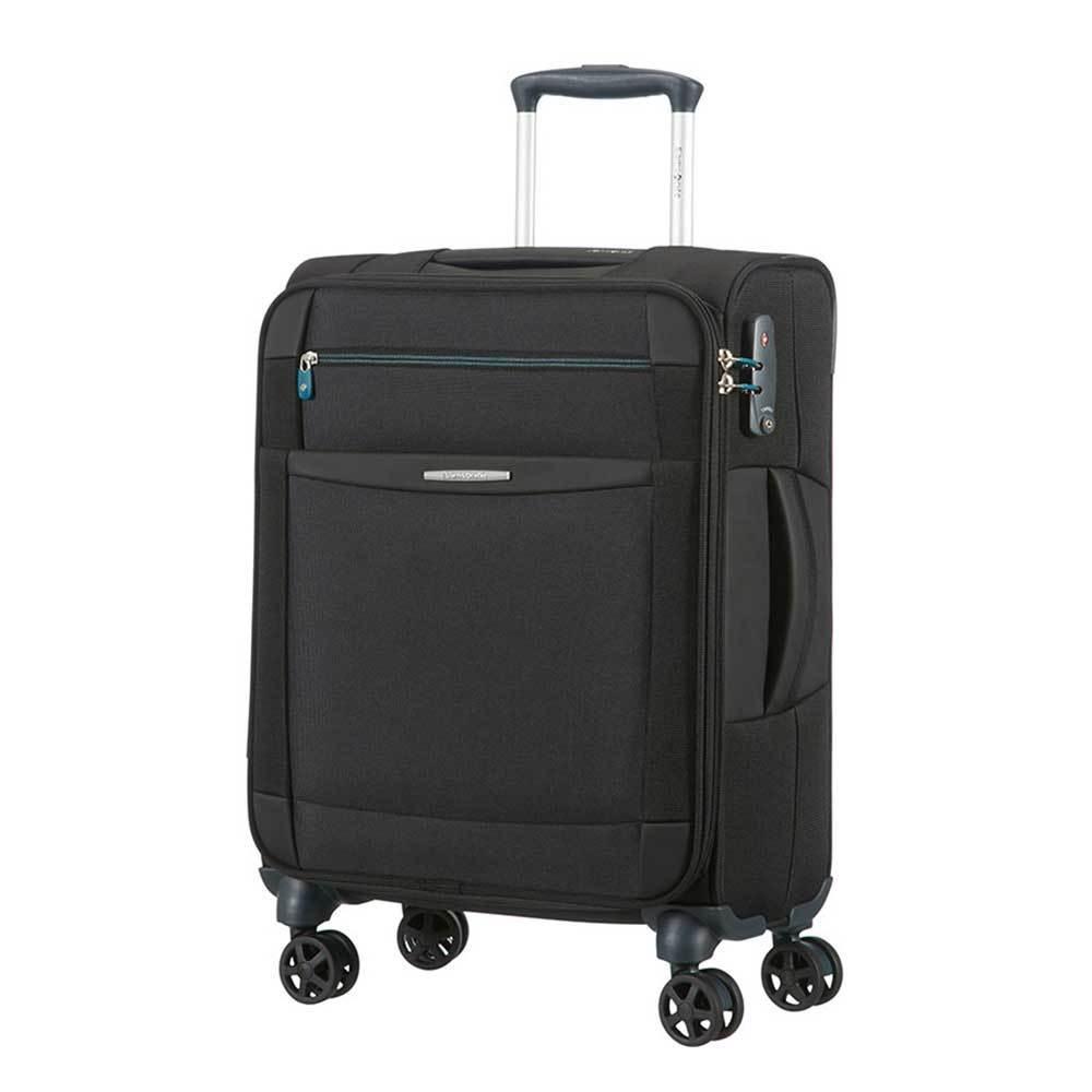 Samsonite Samsonite Dynamo Spinner  Black 55x40x20 cm handbagage koffer