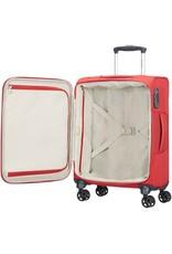 Samsonite Samsonite Dynamo Spinner Rood 55x40x20 cm handbagage koffer