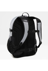 The North Face The North Face Borealis classic Mid Grey Heather / TNF Black oersterke rugtas met 15 inch laptop vak