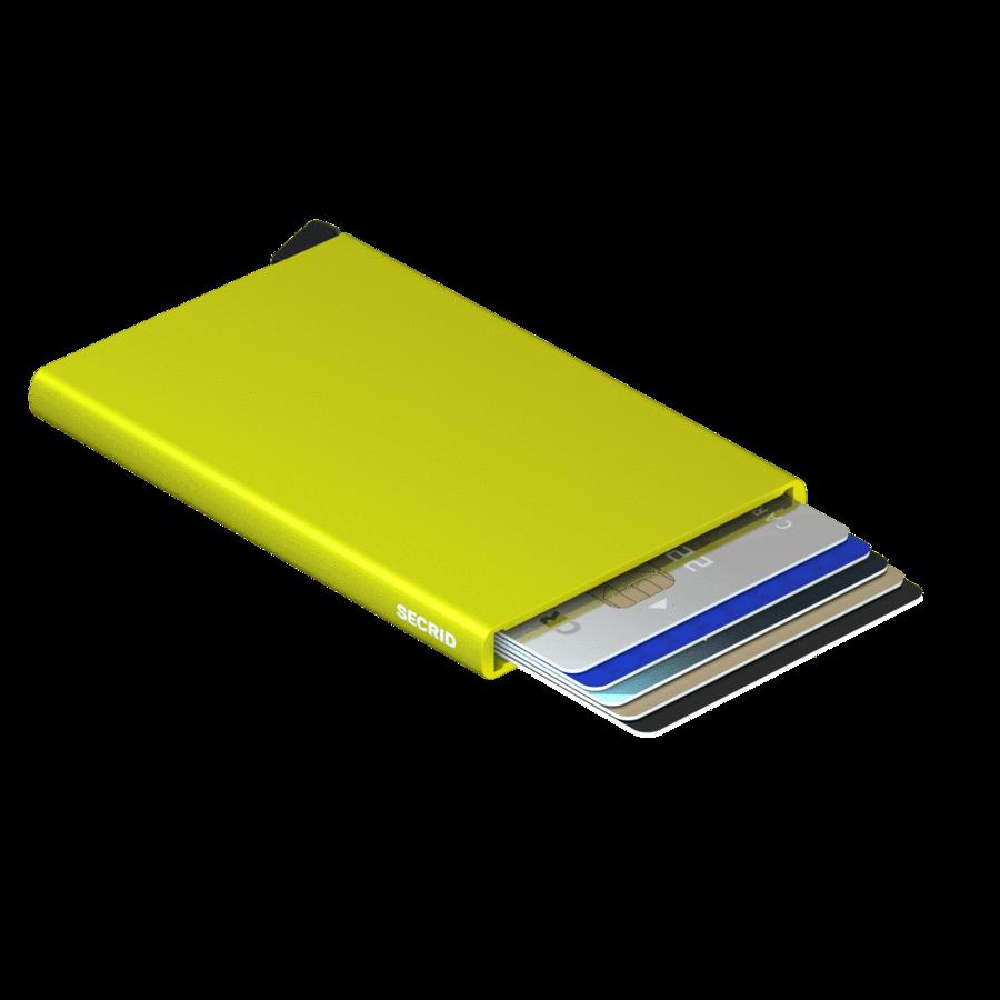 Secrid Secrid Cardprotector  Lime uitschuifbare pasjes bescherming pasjeshouder