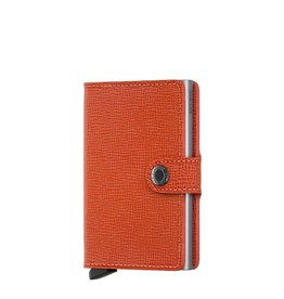 Secrid Secrid Mini Wallet Crisple Orange pasjeshouder