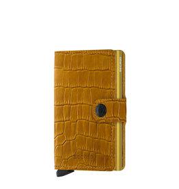 Secrid Secrid Mini Wallet Cleo Ochre pasjeshouder