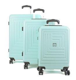 Line Oistr Juneau Spinner kofferset 55cm + 65cm + 75cm Mint