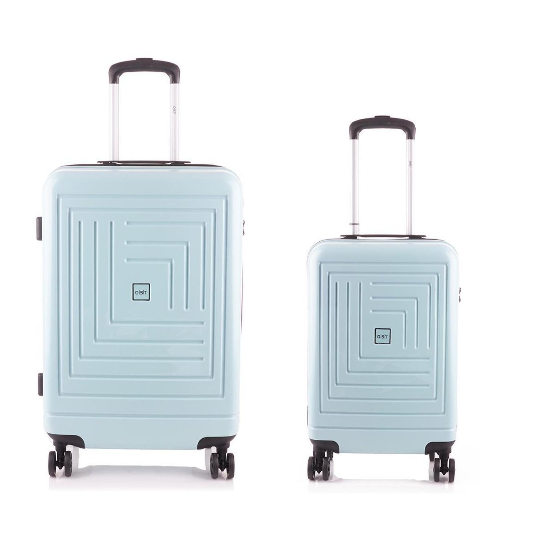 Line Oistr Juneau Spinner kofferset Mint handbagage en middenmaat