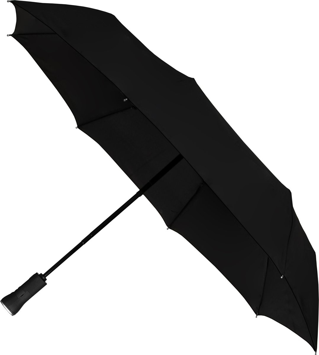 Impliva Impliva Windproof opvouwbare automatic Paraplu  met bluetooth speaker