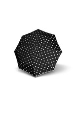 Knirps Knirps T-200 M Duomatic Windproof Paraplu  - Dot Art Black
