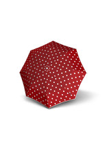 Knirps Knirps T-200 M Duomatic Windproof Paraplu  - Dot Art Red