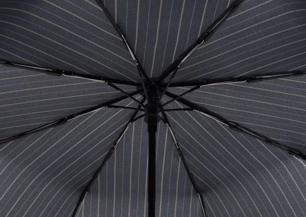 Doppler Doppler Flipback Stormparaplu - Black
