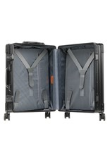"Aleon Aleon 21"" International Carry-on - Aluminium 55 x 40 x 20 cm handbagage Reiskoffer - zwart"