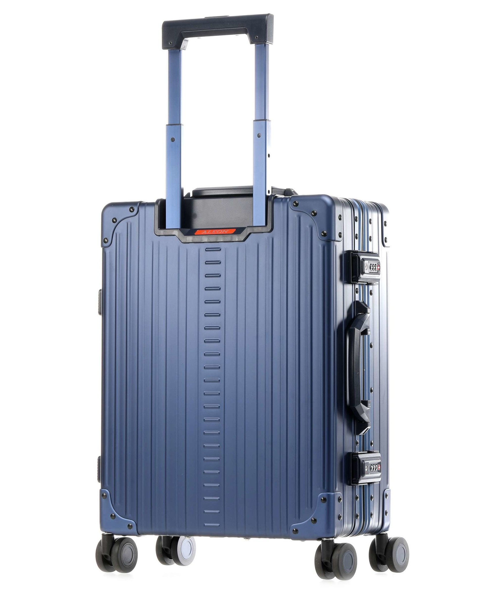 "Aleon Aleon 21"" International Carry-on - Aluminium 55 x 40 x 20 cm handbagage Reiskoffer - blauw"