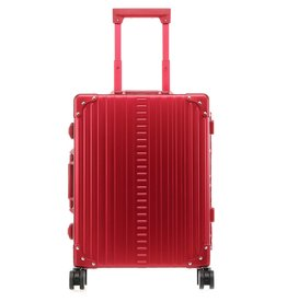 "Aleon Aleon 21"" International Carry-on - Aluminium handbagage Reiskoffer - Ruby"