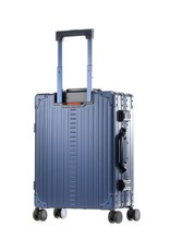 "Aleon Aleon 21"" International Carry-on - Aluminium 55 x 40 x 20 cm handbagage Reiskoffer - zilver"