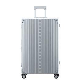 """Aleon Aleon 30"""" Macro Traveler Aluminium grote maat Reiskoffer - Platinum"""