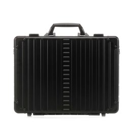 Aleon Aleon 17 Aluminium Attache Laptop koffer - Onyx zwart