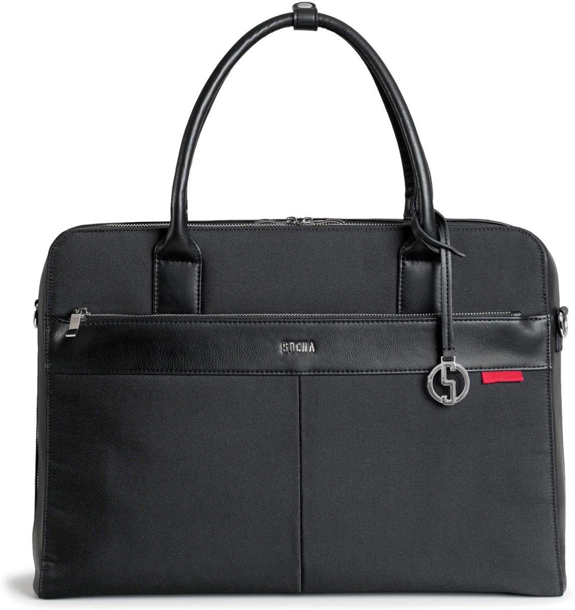 Socha  Socha Business Laptoptas Casual 17.3'' Zwart