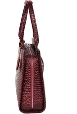 "Socha  Socha Business 15.6"" Laptoptas Croco Burgundy"