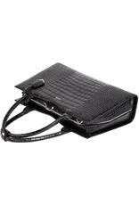 "Socha  Socha Business 15.6"" Laptoptas Croco Jet Black"