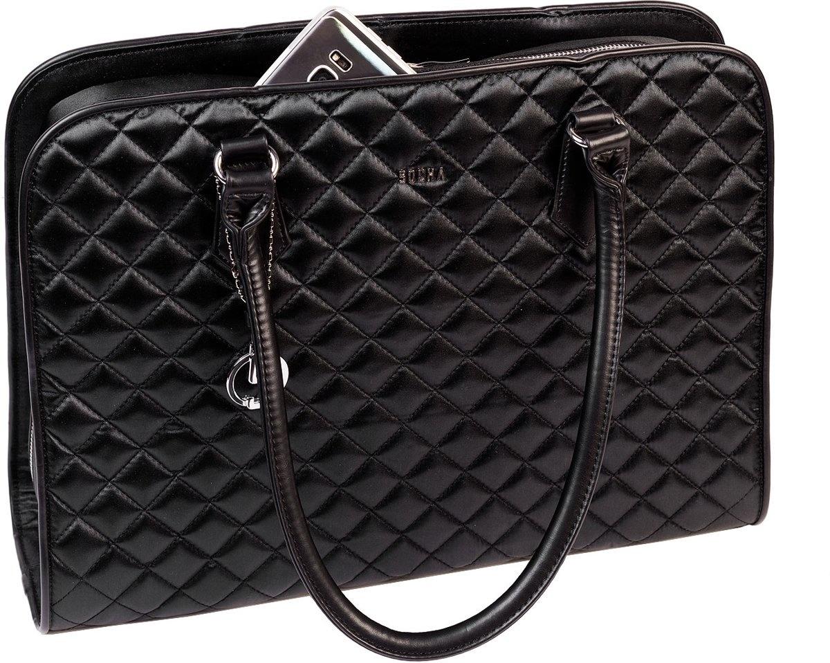 """Socha  Socha Businessbag 15.6"""" Laptoptas Diamond Black"""