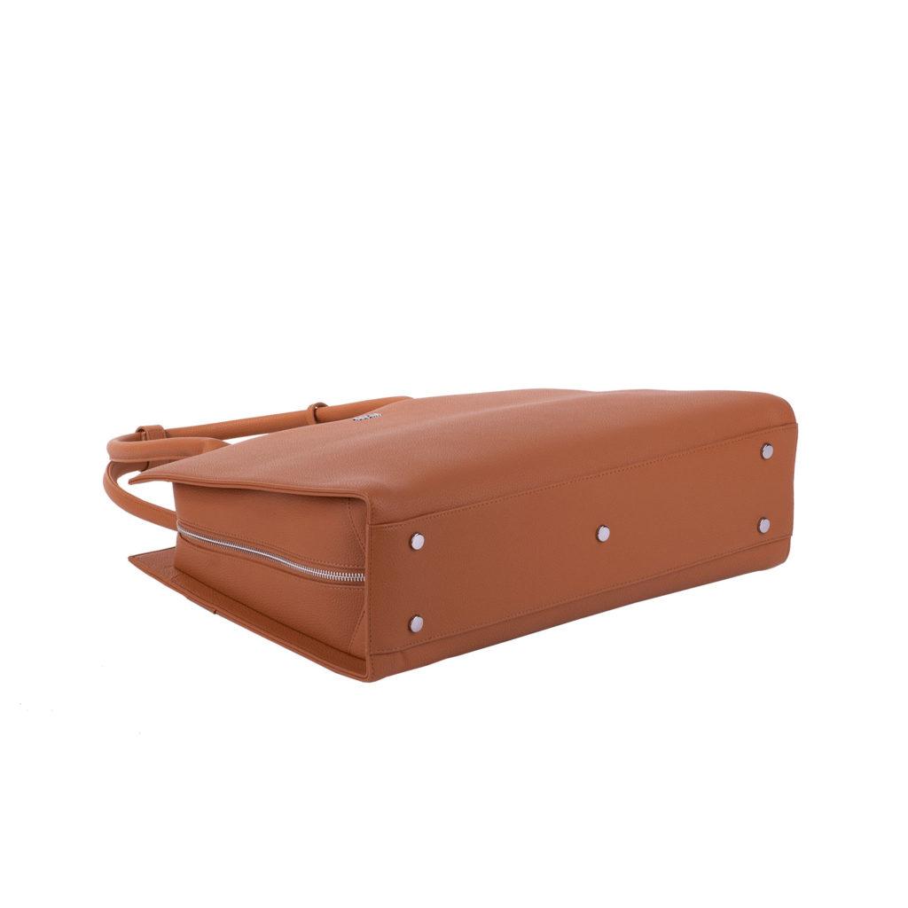 "Socha  Socha Business 15.6"" Laptoptas Straight Line - Cognac"
