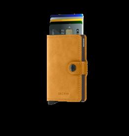 Secrid Secrid Mini Wallet Vintage Ochre pasjeshouder