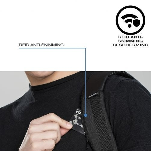 XD Design XD Design Urban Lite Anti Diefstal Rugzak - Zwart