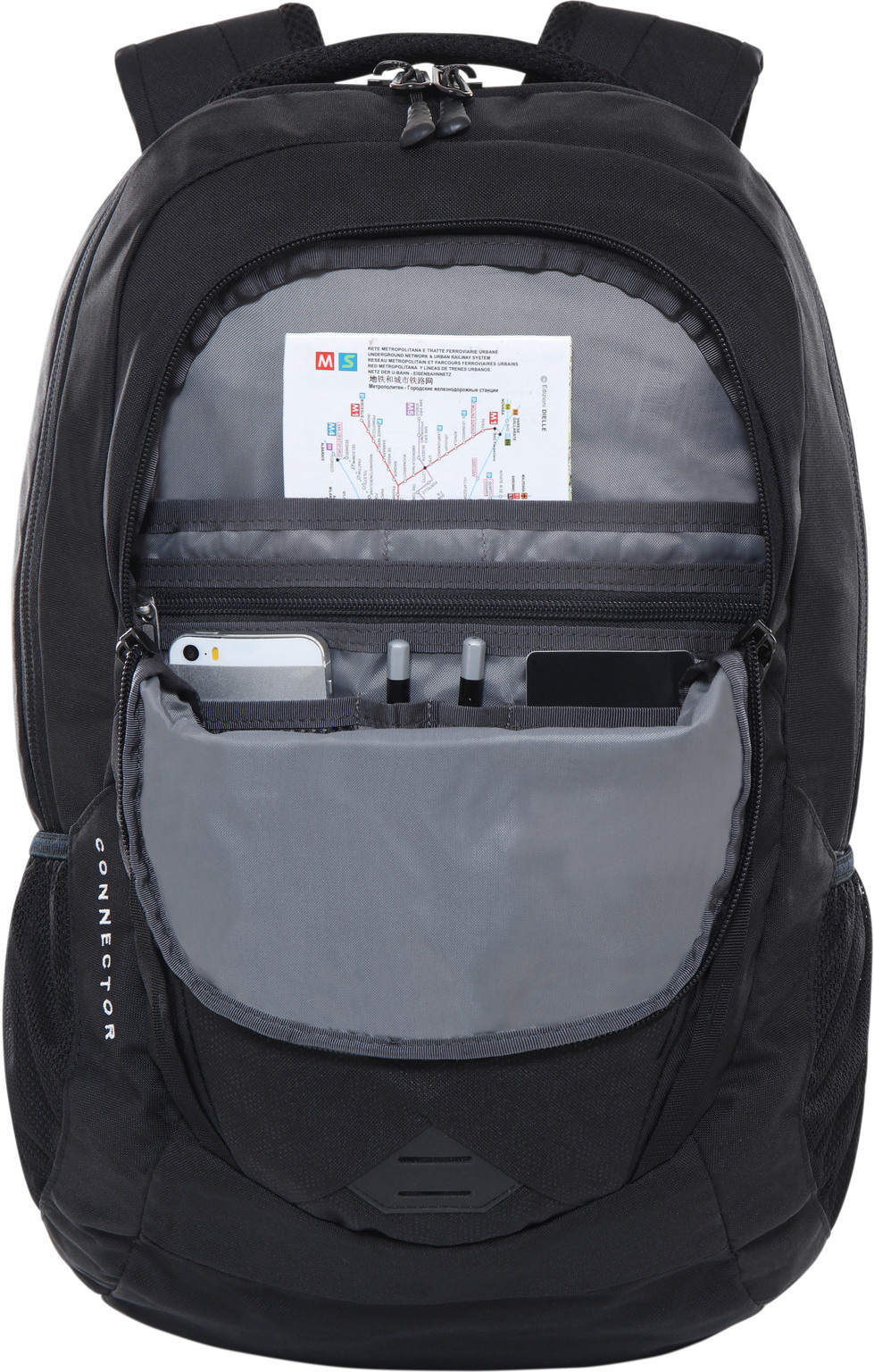 "The North Face The North Face Connector TNF Black 15"" laptoprugzak"