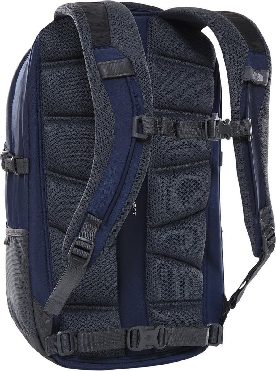 The North Face The North Face Fall Line Cosmic Blue / Asphalt Grey 15 inch laptoprugzak