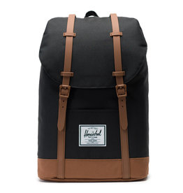Herschel Herschel Retreat Black Saddle Brown rugzak