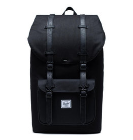 Herschel Herschel Little America Dark Grid Black rugzak