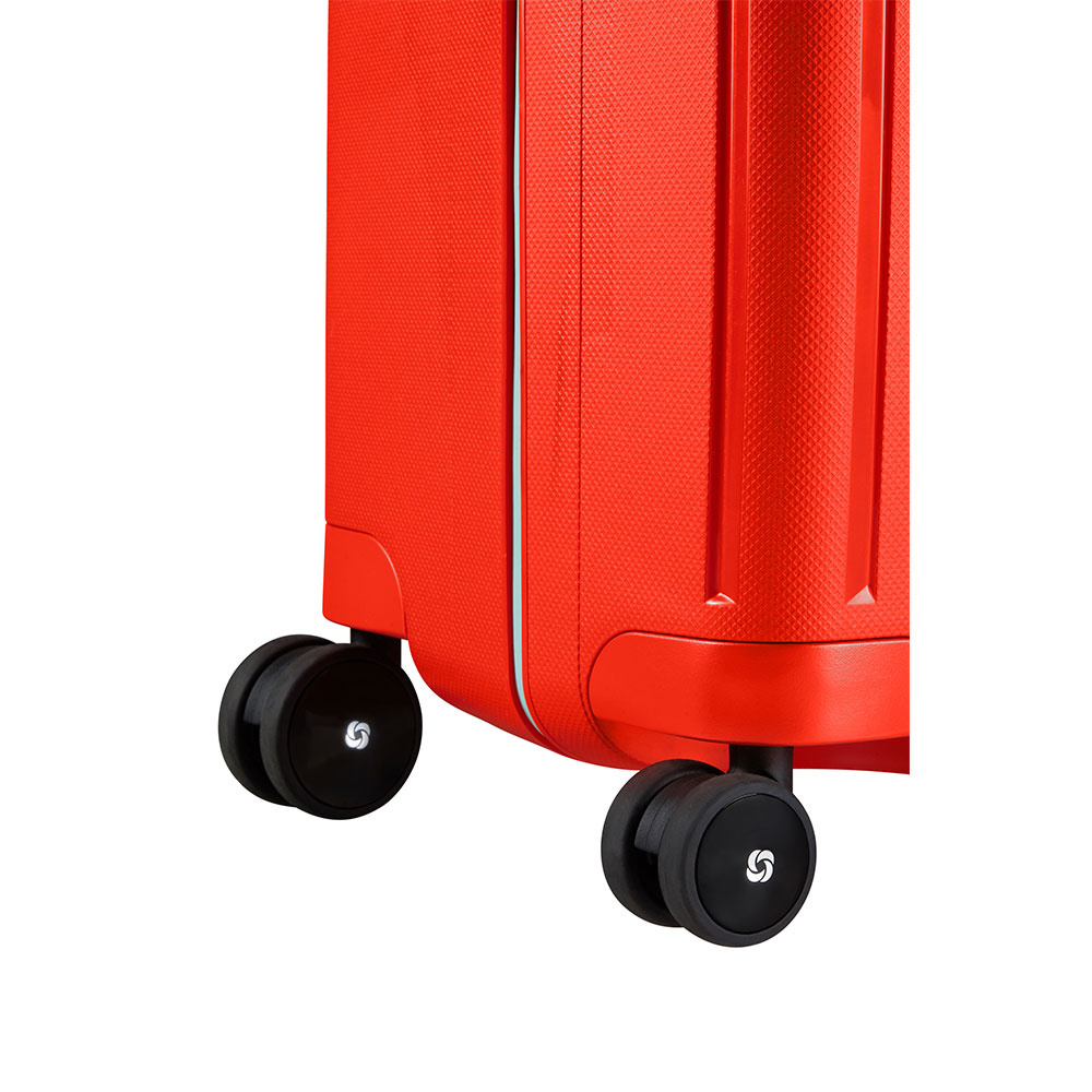 Samsonite Samsonite S'Cure Spinner 69cm Fluo Red Capri reistrolley