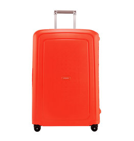 Samsonite Samsonite S'Cure Spinner 75cm Reiskoffer Fluo Red Capri