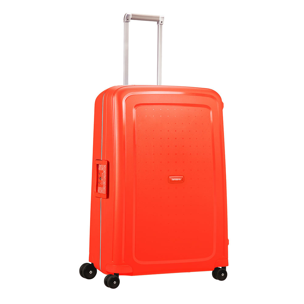 Samsonite Samsonite S'Cure Spinner 75cm Reistrolley Fluo Red Capri