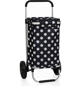 Bamex Bamex Chicago Boodschappentrolley Black Dots