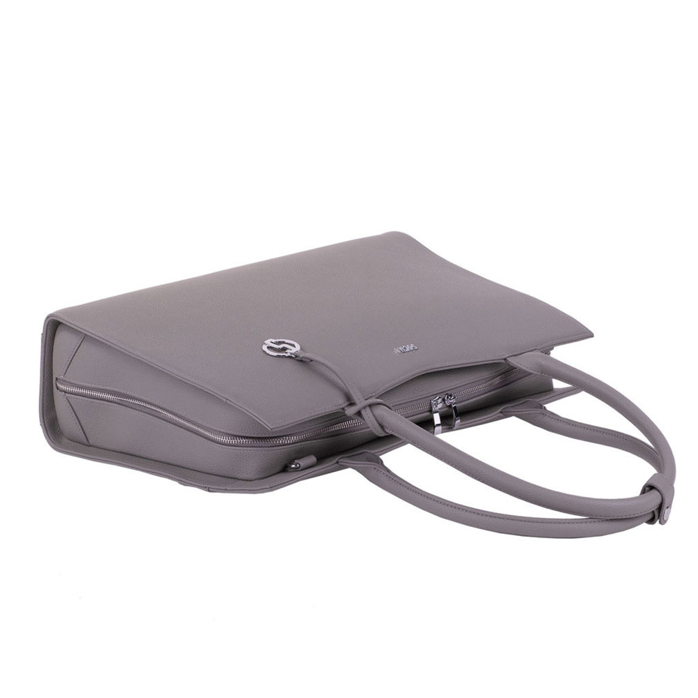 "Socha  Socha Business 15.6"" Laptoptas Straight Line - Mud"