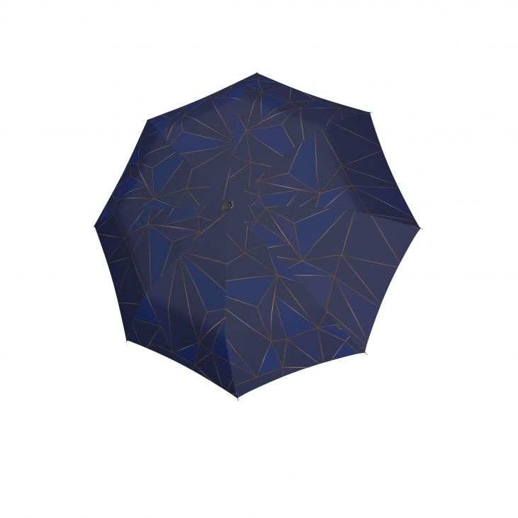 Knirps Knirps T-200 M Duomatic Windproof Paraplu  - Perfection Blue