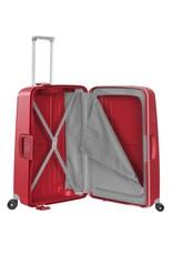 Samsonite Samsonite S'Cure Spinner 75cm Crimson Red flowlite spinner koffer