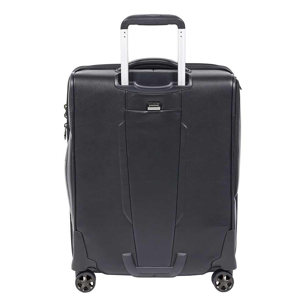 "Samsonite Samsonite PRO-DLX 5 LTH leren handbagage Spinner 55cm Uitbreidbaar 15.6"" laptopvak"