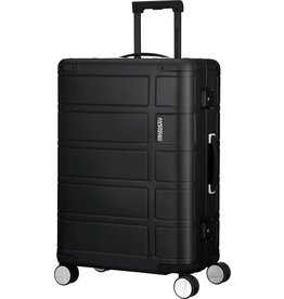 American Tourister American Tourister Alumo  Spinner 67 Black Aluminium Reiskoffer