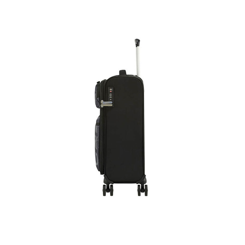 American Tourister American Tourister handbagagetrolley Matchup Spinner 55 City Map Black