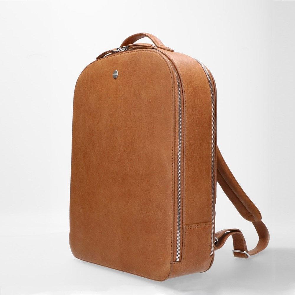 FMME. FMME. Laptop rugtas 13 inch Claire - Cognac Nature Leer