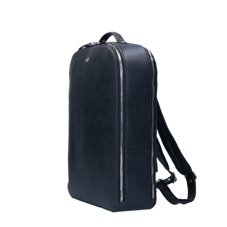 FMME. FMME. Laptop rugtas 15.6 inch Claire, Zwart Nature Leer
