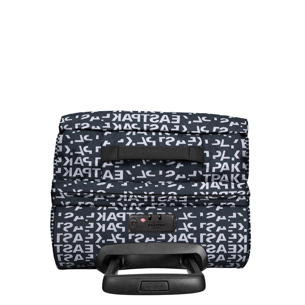Eastpak Eastpak Tranverz S Bold Black Handbagage reistas met trolley en wieltjes