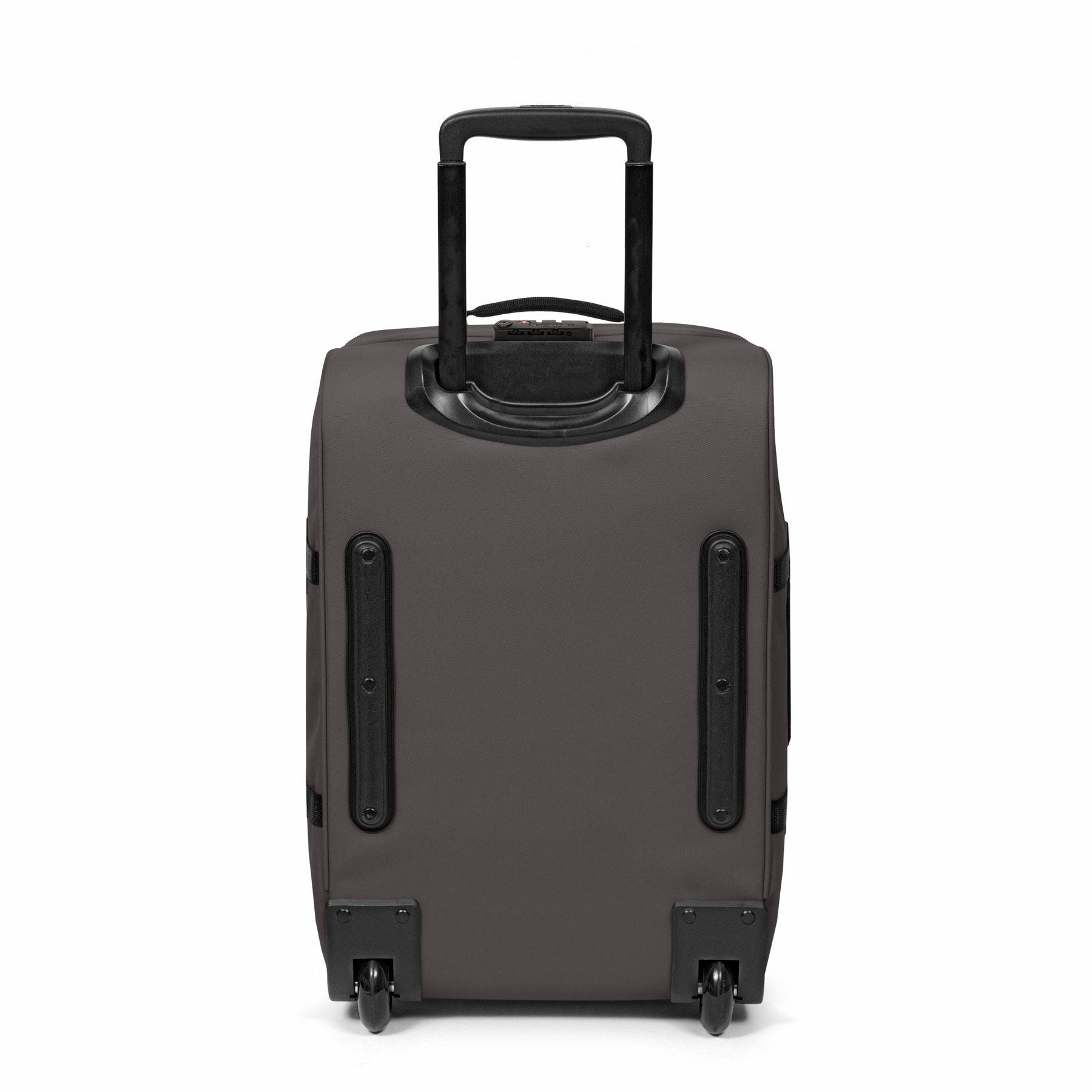 Eastpak Eastpak Tranverz S Simple Grey Handbagage reistas met trolley en wieltjes