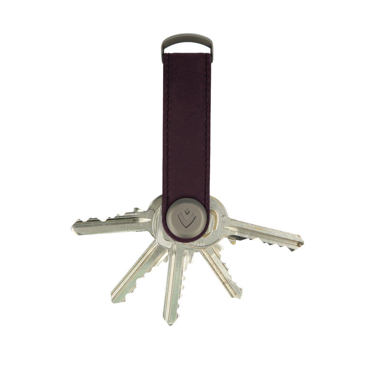 Valenta Valenta Leren sleutelhouder Vintage Burgundy