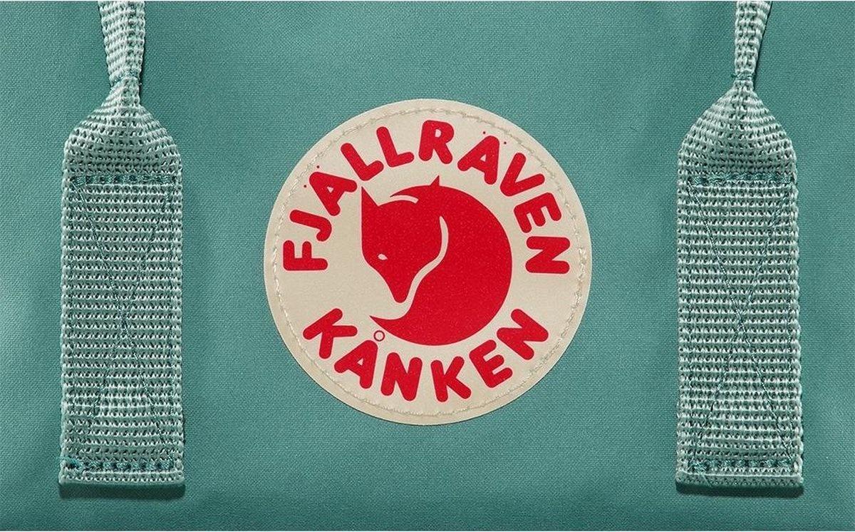 "Fjallraven Fjallraven Kanken laptop 15"" rugzak - Frost Green Chess Patern"